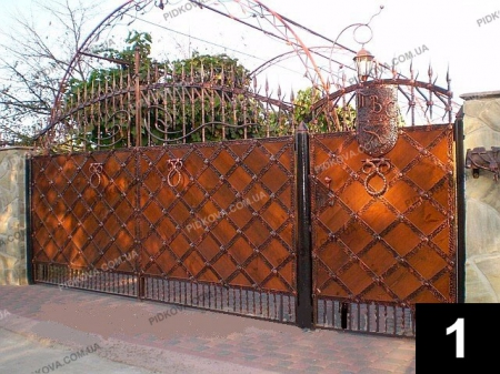 Ворота деревянные