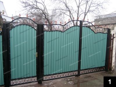 Прості ковані ворота