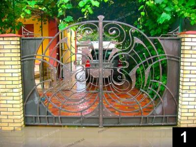 Сучасні ковані ворота