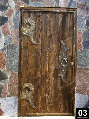 Ковані двері Черкаси. Кованные двери Черкассы