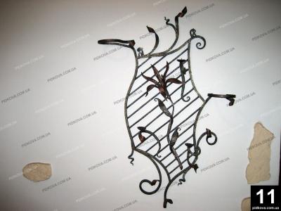Ковані елементи для дому Черкаси. Кованные элементы для дома Черкассы