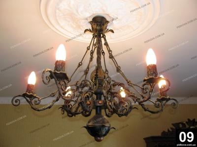 Кованые люстры, кованые фонари Черкаси
