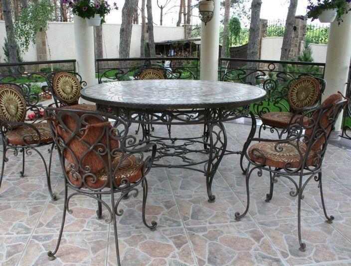 Вироби художньої ковки з металу в інтер'єрах ресторанів та барів