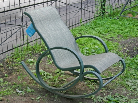 Коване крісло